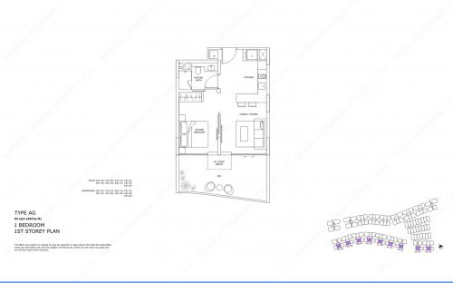 Archipelago Type AG - 1 Bedroom