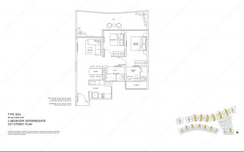 Archipelago Type BGa - 2 Bedroom Intermediate