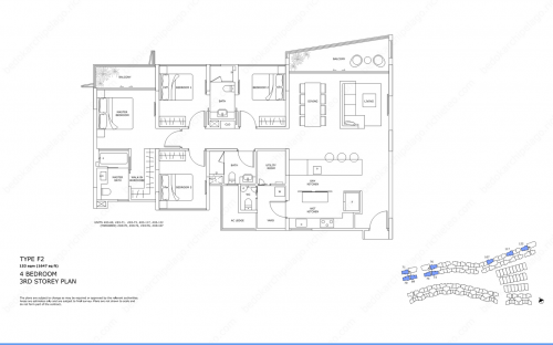 Archipelago Type F2 - 4 Bedroom