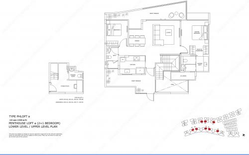Archipelago Type PHLOFT a - Penthouse Loft a (2+1 Bedroom)