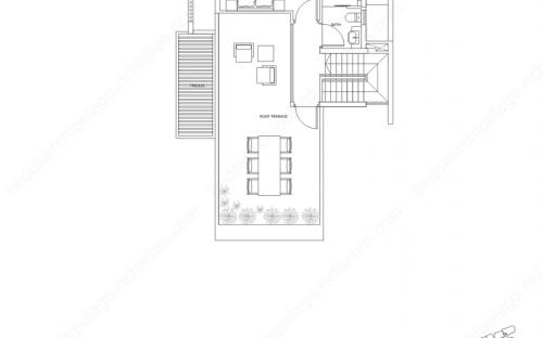 Archipelago Type SH 2 - 3rd Storey / Roof Terrace