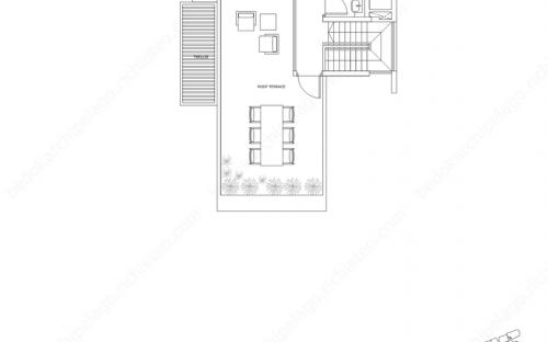 Archipelago Type SH 3 - 3rd Storey / Roof Terrace