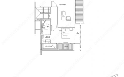 Archipelago Type SH 4 - 3rd Storey / Roof Terrace