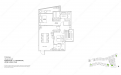 Archipelago Type PH1 - Penthouse 1 (4 Bedroom, Upper Level)