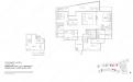 Archipelago Type PHLOFT b (LOFT) - Penthouse Loft b (2+1 Bedroom)